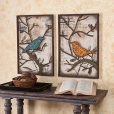 Southern Enterprises Bird Wall Panels 24