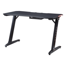 Lorell 47 W Ergonomic Gaming Desk