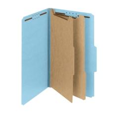 Smead Pressboard Classification Folders With SafeSHIELD
