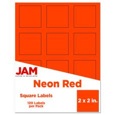 JAM Paper Square Mailing Adress Labels