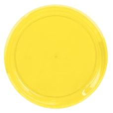 Amscan Round Plastic Platters 16 Yellow