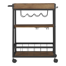 Linon Anson 3 Tier WoodMetal Kitchen