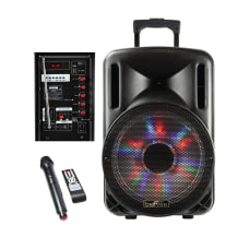 BeFree Sound 2500W Bluetooth Portable Party