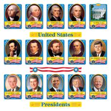 TREND US Presidents Bulletin Board Set