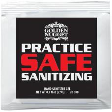 Custom Sanitizer Gel Packets 01 Oz