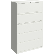 Lorell 42 W Lateral 5 Drawer