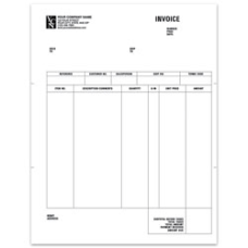 Custom Laser AR Invoice For ACCPAC