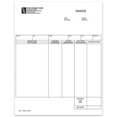 Custom Laser Product Invoice For DACEASY