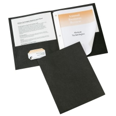 Avery 2 Pocket Folders With Fasteners