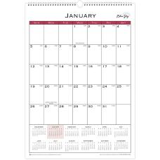 Blue Sky Classic Monthly Wall Calendar