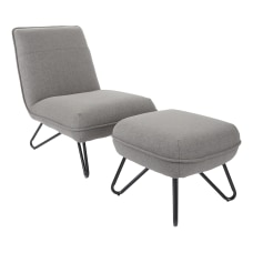 Ave Six Cortina Chair With Ottoman