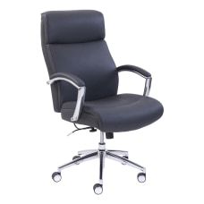 Lorell Active Lumbar Bonded Leather Chair
