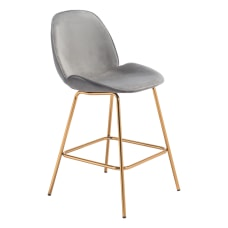 Zuo Modern Siena Counter Chairs Graphite