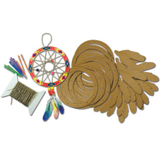 Roylco 12 Dream Catcher Craft Set