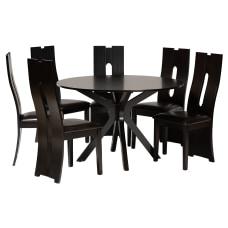 Baxton Studio Kenyon Dining Set 29