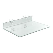 Azar Displays Acrylic Shelves For PegboardsSlatwalls