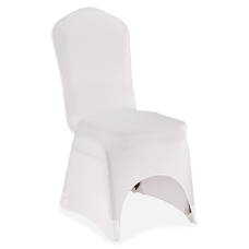 Iceberg Banquet Chair Cover Supports Chair