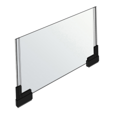 Azar Displays Acrylic Horizontal 2 Sided