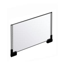 Azar Displays Acrylic Horizontal 2 Sided