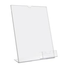Deflecto Superior Image Slanted Sign Holder