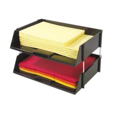 Deflecto SuperTray Countertop Tray 2 Tiers