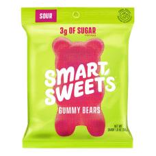 SmartSweets Sour Gummy Bears 18 Oz