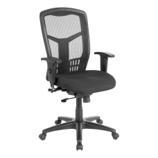 Lorell Ergonomic MeshFabric High Back Chair