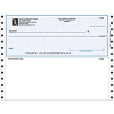 Custom Continuous Multipurpose Voucher Checks For