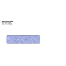 Custom Tinted Single Window Imprinted Envelopes