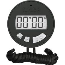 Taylor 5826 Chefs Stopwatch Timer For