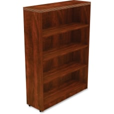 Lorell Chateau Series Bookcase 4 Shelf