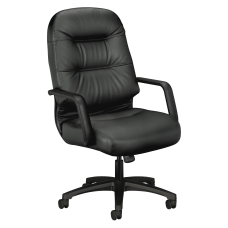 HON Pillow Soft Executive Bonded Leather