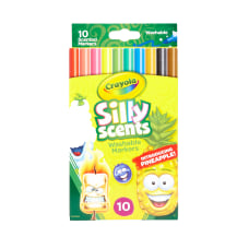 Crayola Silly Scents Washable Markers Conical