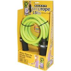 GoFit Heavy Jump Rope 15 lbs