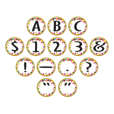 Teacher Created Resources Circle Letters Bulletin