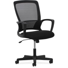 Lorell Mid Back MeshSandwich Mesh Chair