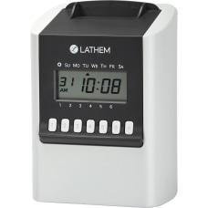 Lathem Calculating Electronic Time Clock 100