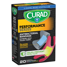 CURAD FingerKnuckle Antibacterial Adhesive Bandages 1