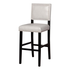 Linon Walton Bar Stool BlackDove Gray