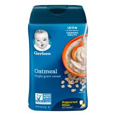 Gerber 1st Foods Cereal Oatmeal 8