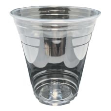 Edris Plastics Flush PET Cups 12