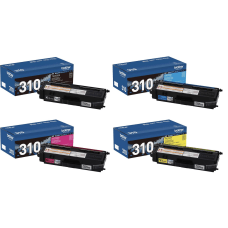 Brother TN 310 4 Color Toner