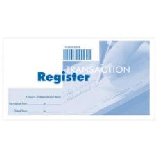 Wallet Checkbook Register 5 34 x