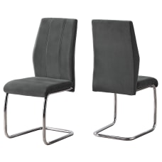 Monarch Specialties Sebastian Dining Chairs Dark