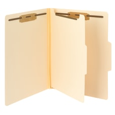 Smead Fastener Folders With Dividers Letter