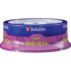 Verbatim DVDR DL 85GB 8X with