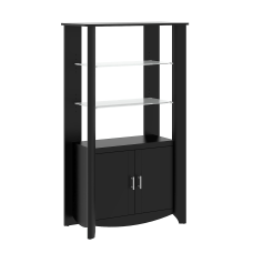 Bush Furniture Aero Tall Library Storage