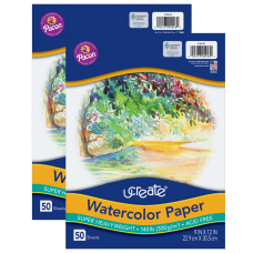 Pacon UCreate Watercolor Paper 9 x