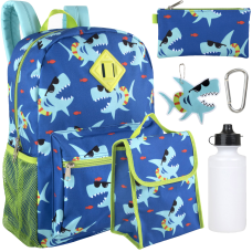 Trailmaker 6 Piece School Backpack And