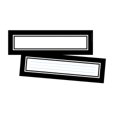 Barker Creek Double Sided Name Plates